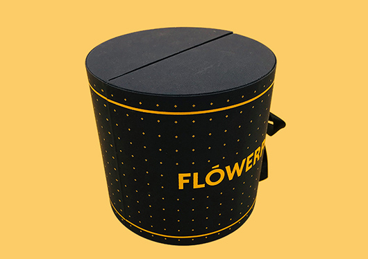 Romantic Round Flower Gift Box