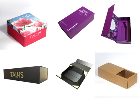 4 Common Box Types for carton packaging customization