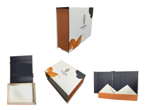Customized foldable Box with magnetic closure
