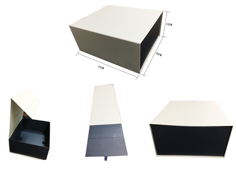 Foldable Apparel packaging box