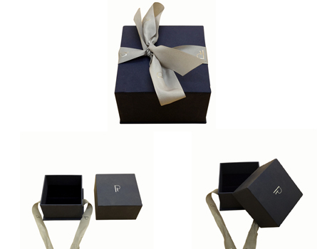 Gift Box with Ribbon closure
