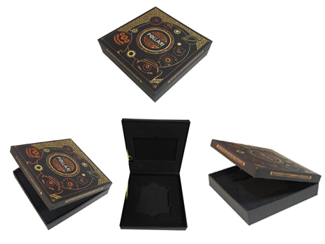 Commemorative coin souvenir Box