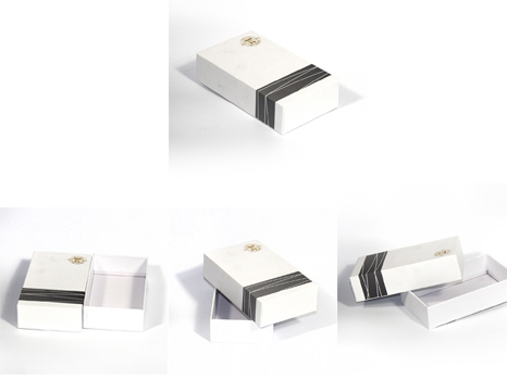 Tooth product packaging box