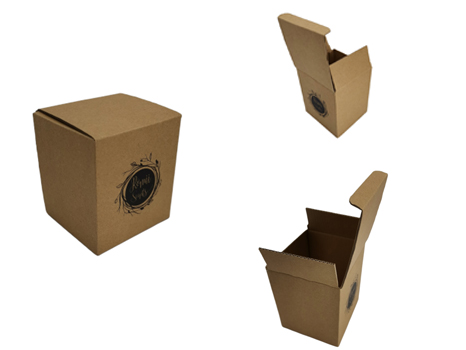 Kraft Paper candle packaging box
