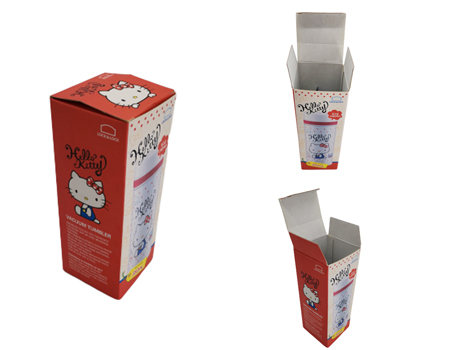 Kraft Thermos cup Paper Box